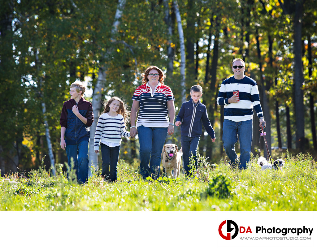 Family Photographer at Arboretum Sunnidale Park
