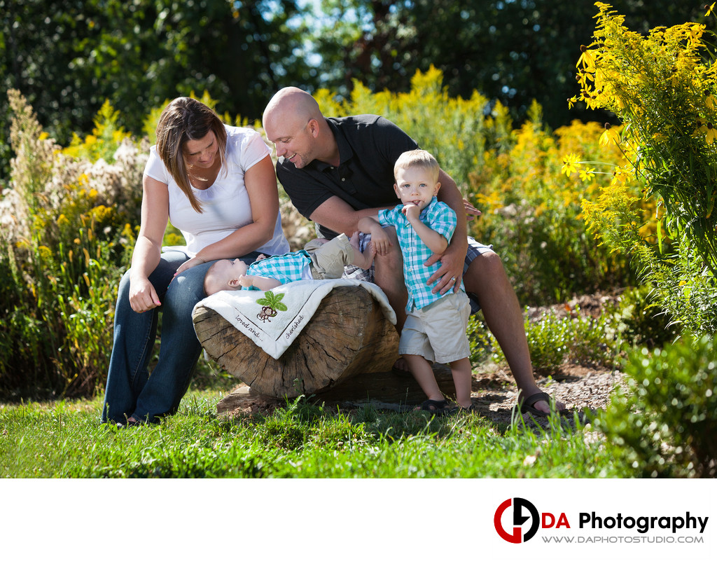 Family Photographer for Heart Lake Conservation Area