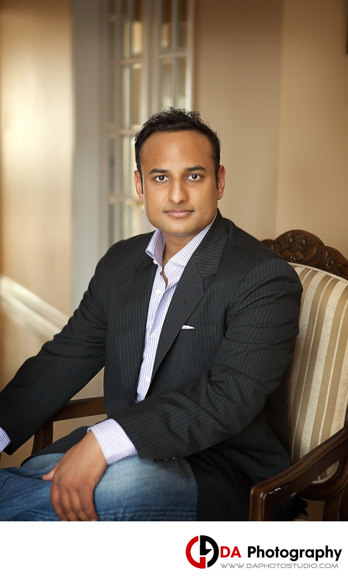 Business Portrait of Entrepreneur in Brampton