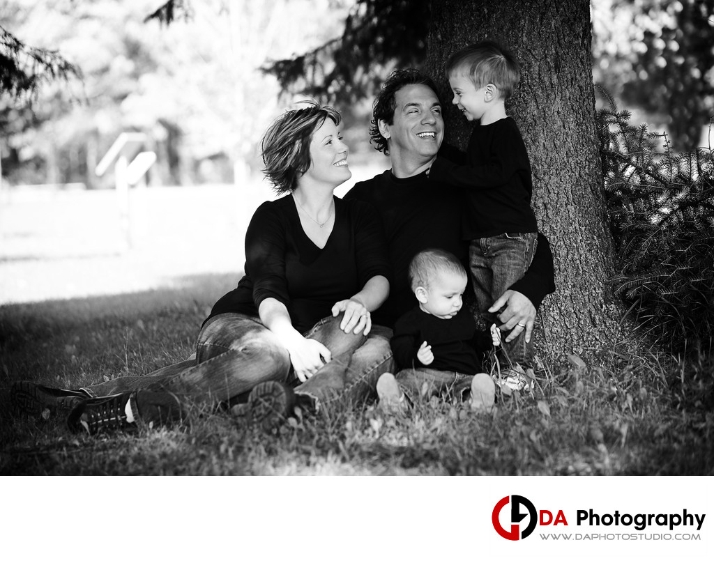 Family Photographer at Bruce's Mill Conservation Area