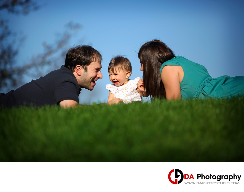 Family Pictures at Winding Lane Park
