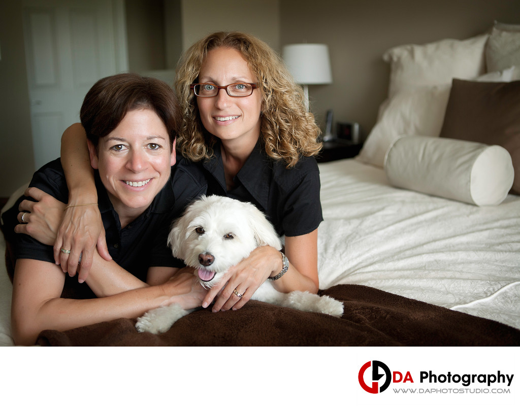 Same Sex Family Photographer in Etobicoke