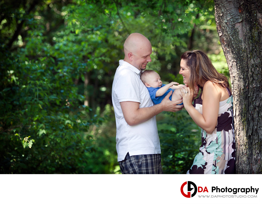 Family Photos at Loafer's Lake in Brampton