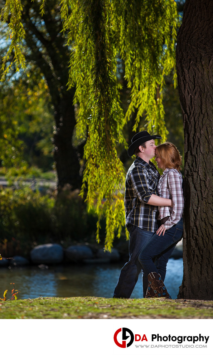 Engagement Pictures from Chinguacousy Park in Brampton