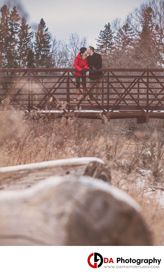 Top Engagement Photographers at Etobicoke Creek Trail