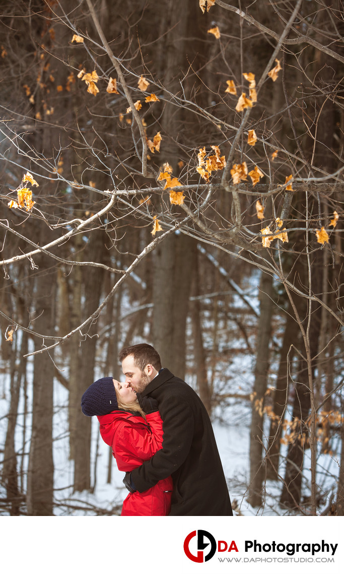 Etobicoke Creek Trail Engagement Photographers