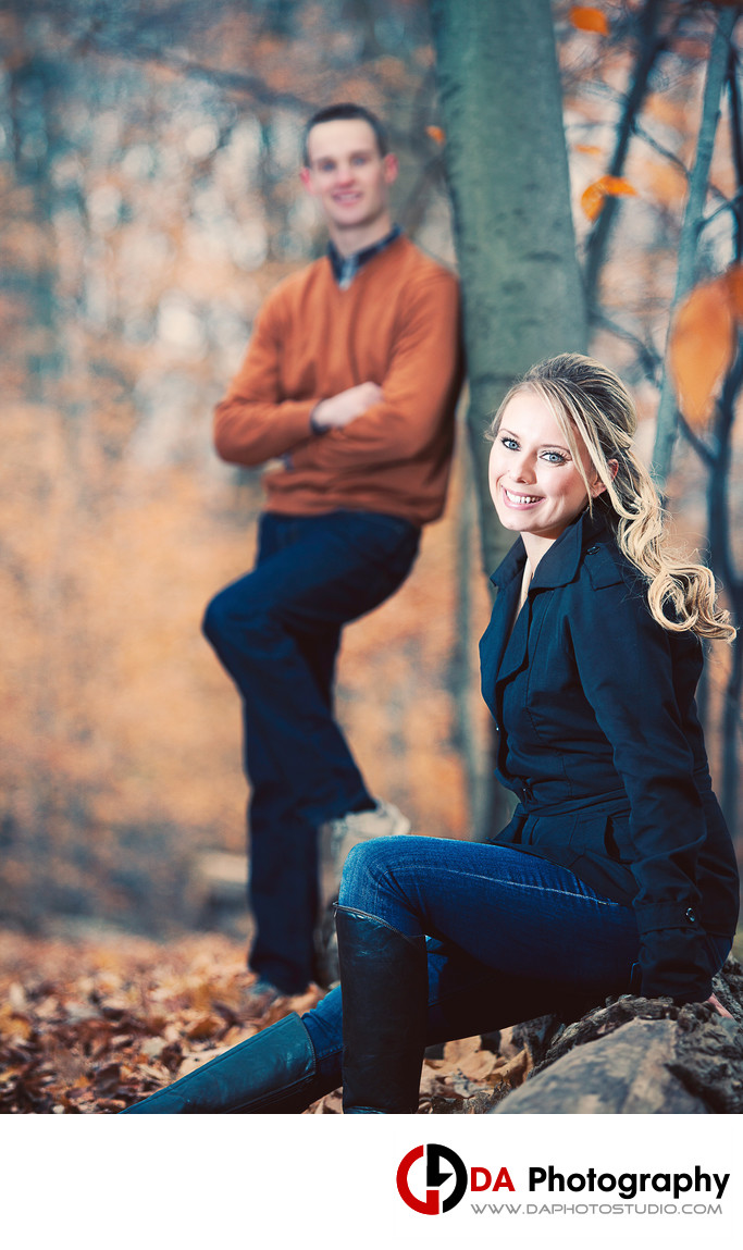 Engagement Photography at Centennial Park in Miton