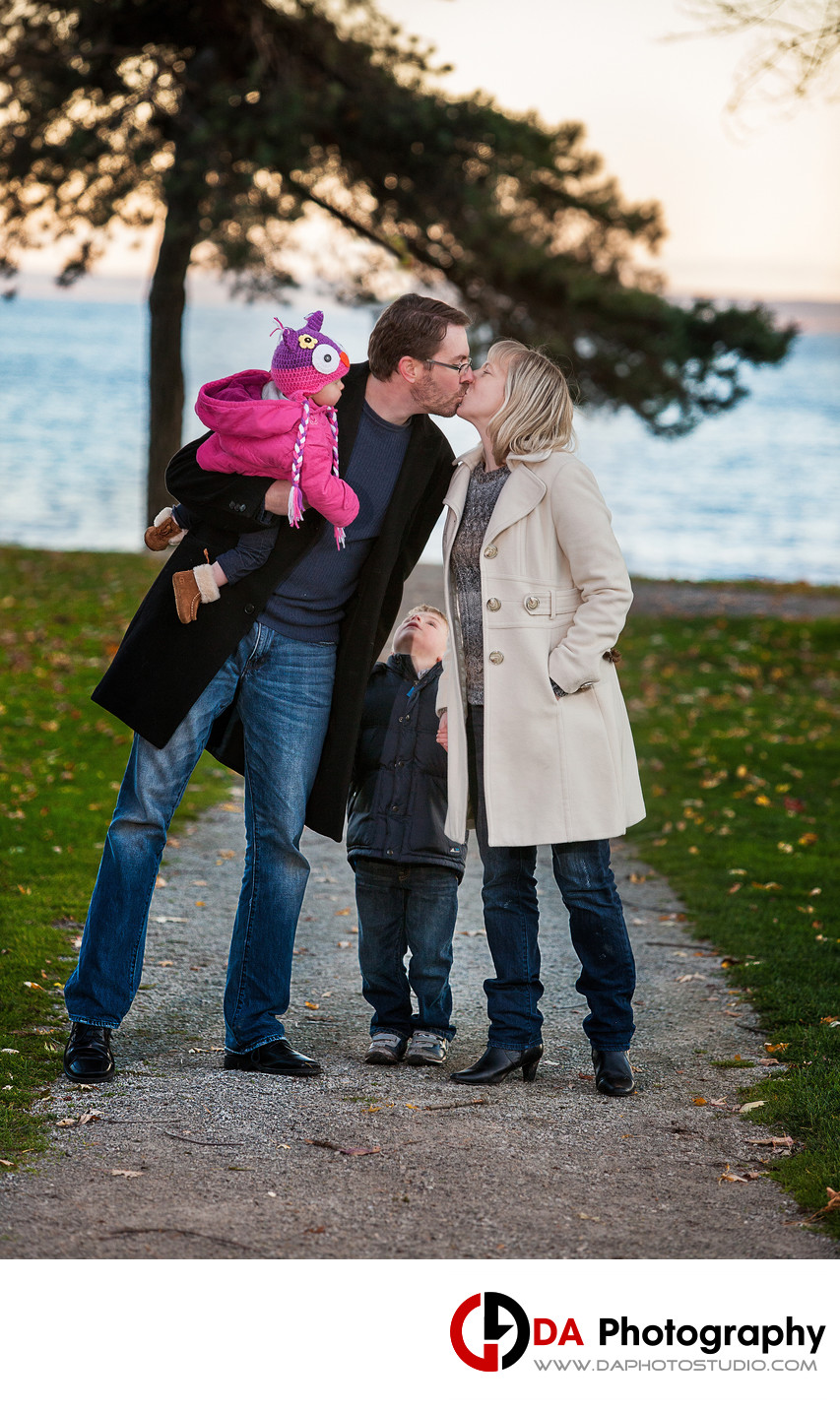 Paletta Mansion Family Portrait in Fall