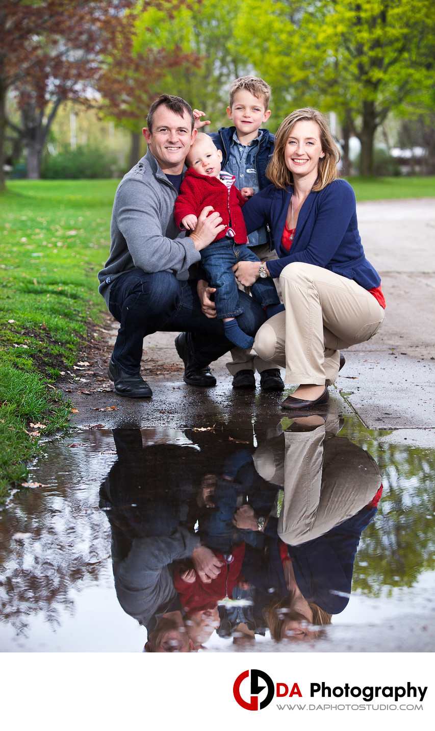 Toronto Island Family Photographer