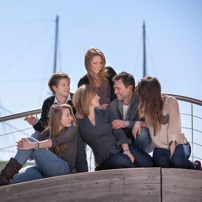 Toronto Family Photographer at Harbour Square Park