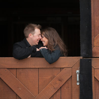 Parish Ridge Stables Engagement Photos