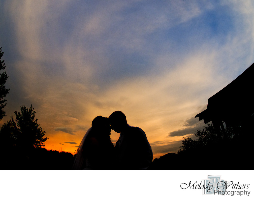 Wedding Photographer Silhouette Blu Falls Indiana