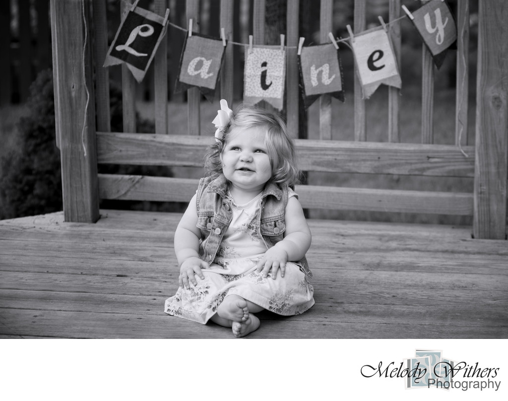 One Year Child Photographer