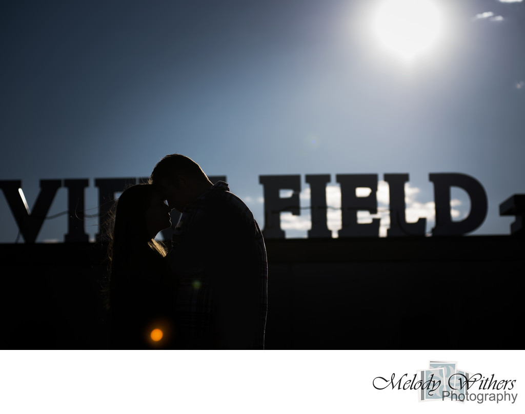 Parkview Field Engagement Fort Wayne Photographer
