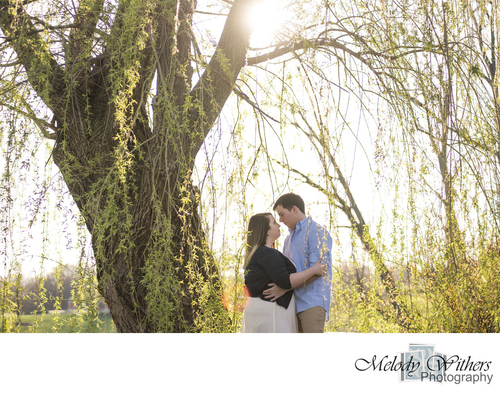 BSU Duck Pond Engagement Session
