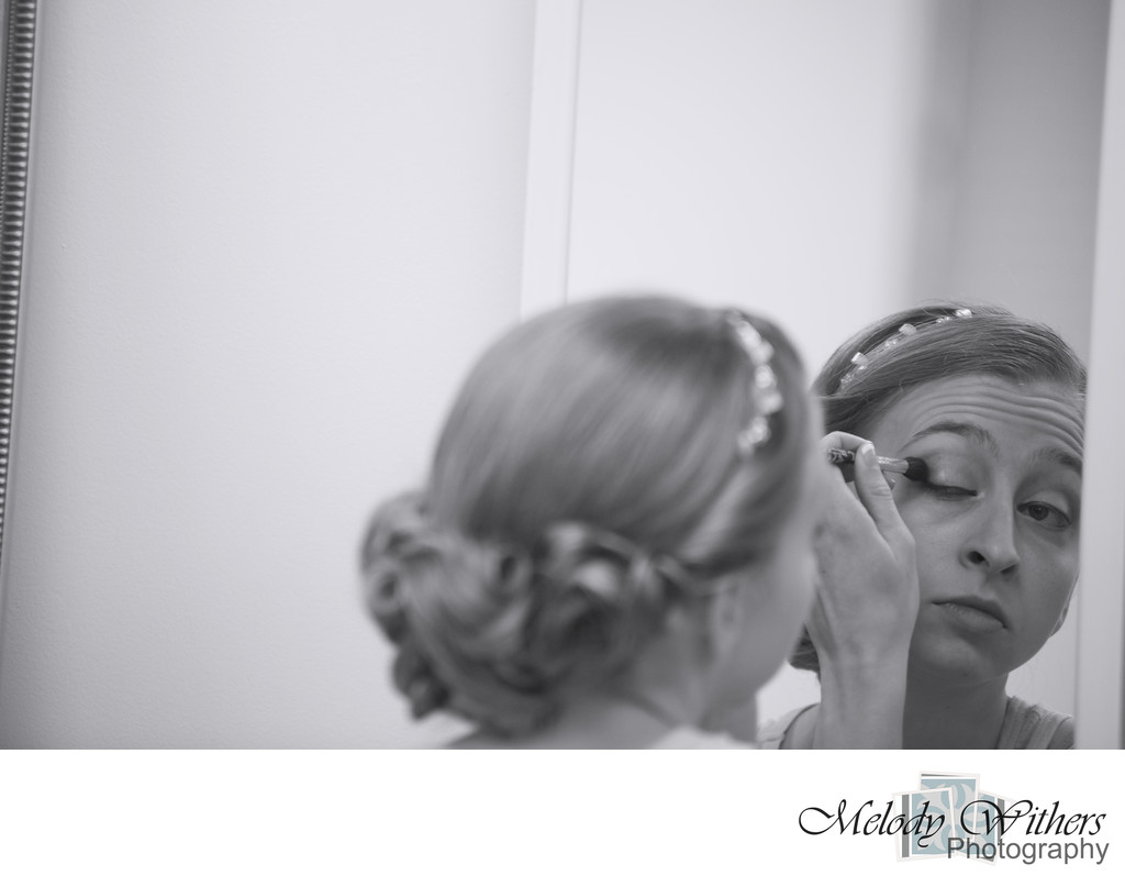 Getting Ready Indianapolis Wedding