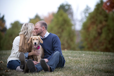 Puppy-Love-Engagement-Photography-Muncie-Indiana