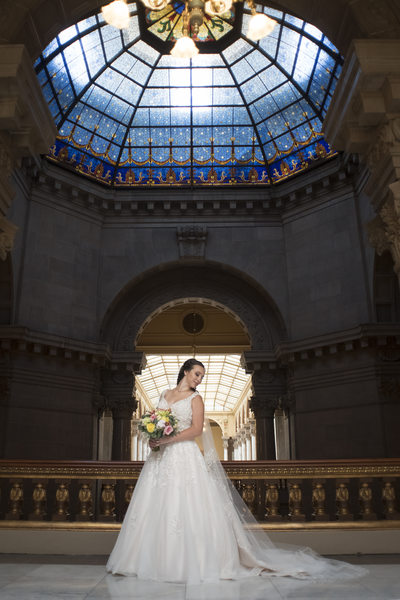Indiana State House Bride Indianapolis Photographer