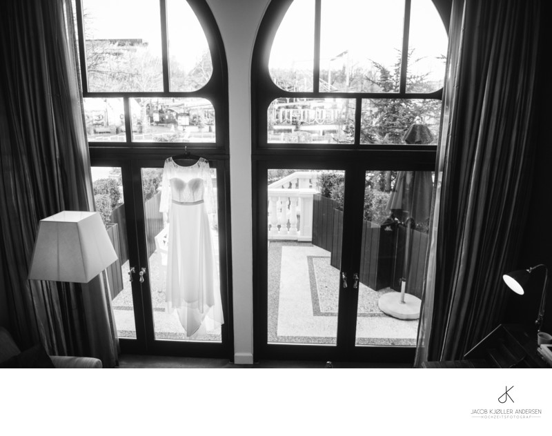 Brautkleid in Nimb Hotel