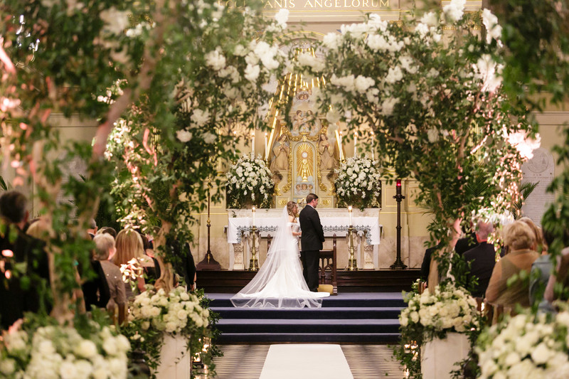 St. Louis Cathedral Wedding Florist