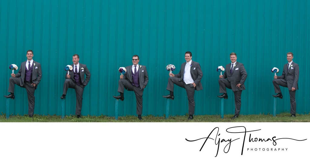 Fun Groomsmen Photos in Vancouver