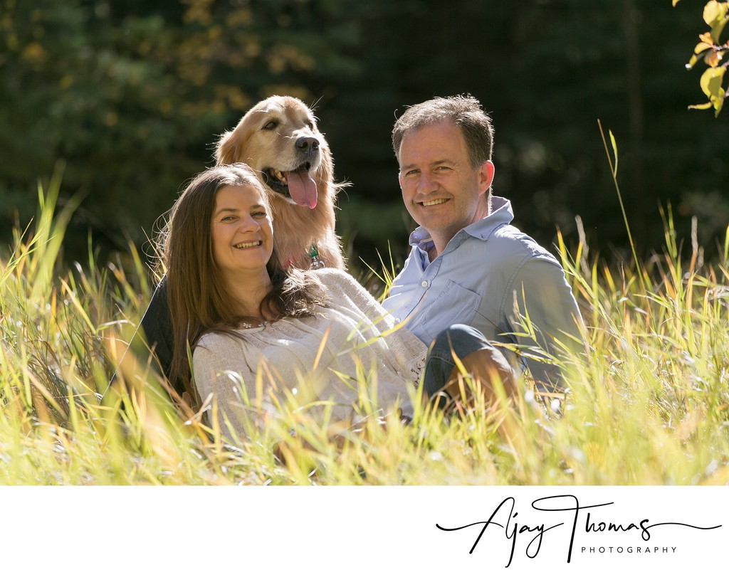 Portrait Sessions with Pets in Vancouver