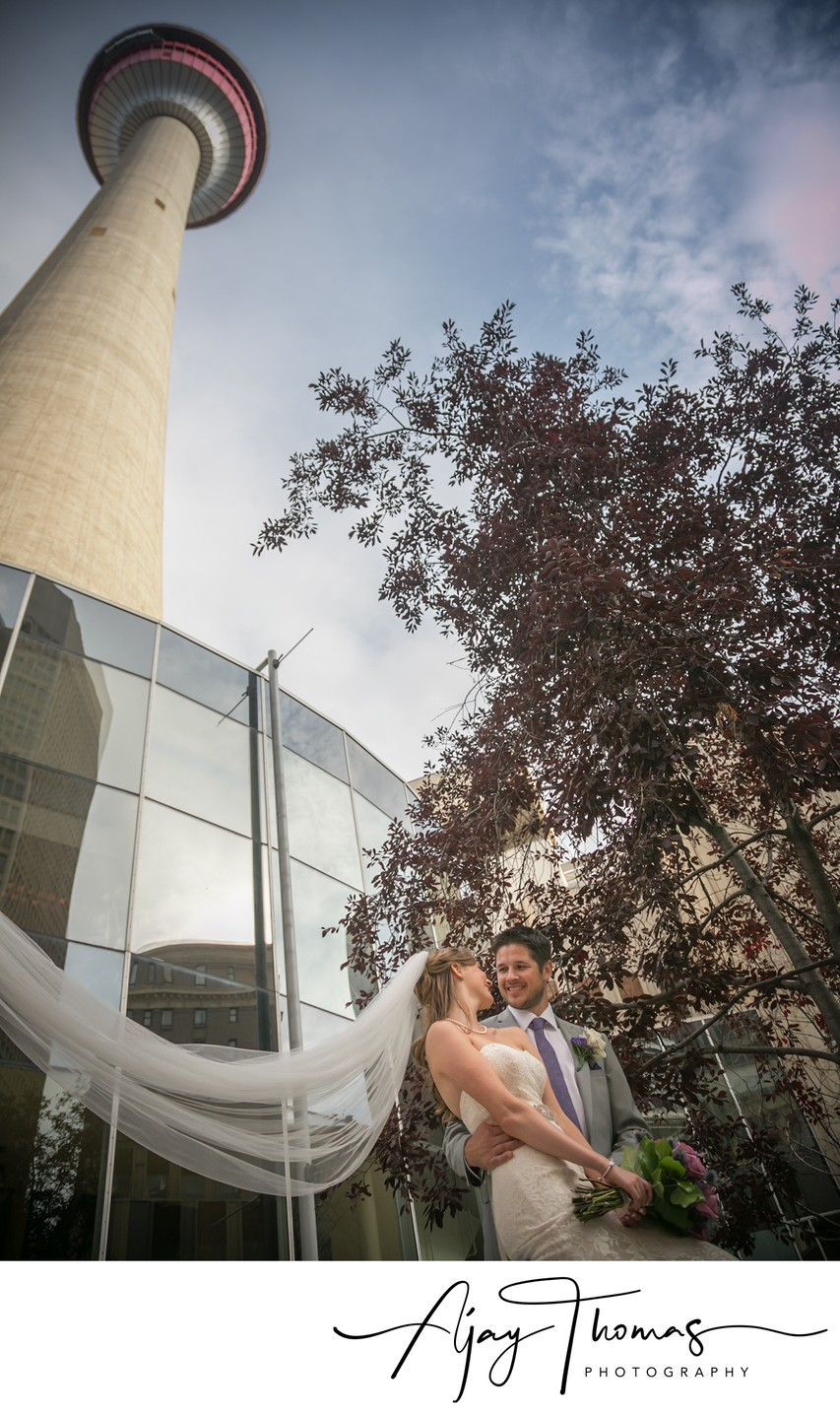 Wedding Pictures in Downtown Vancouver