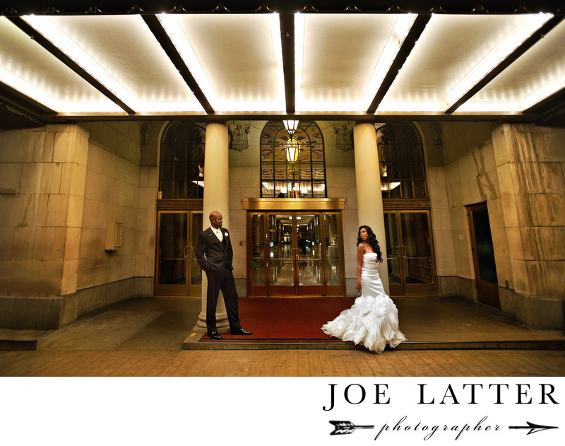 Best Wedding Photographer at the Millennium Biltmore in Los Angeles , California