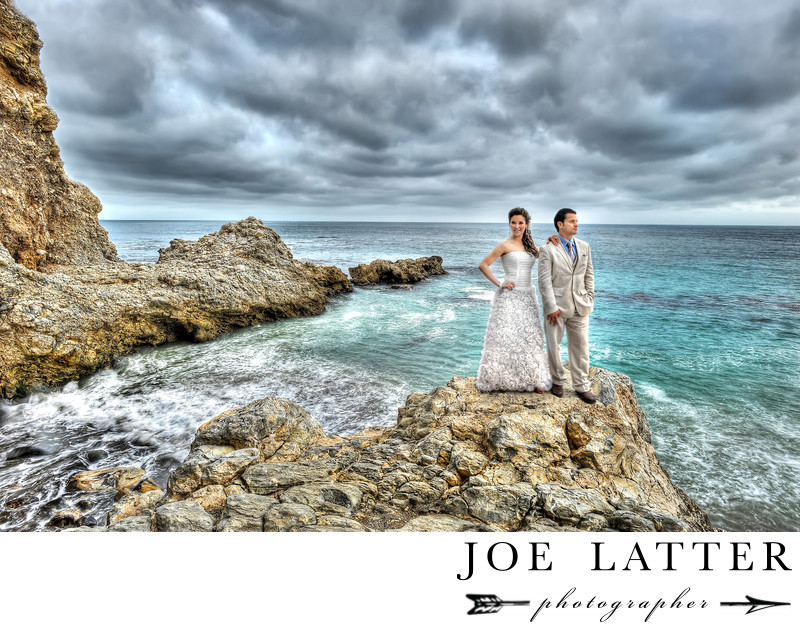 Best Wedding Photographer at Terranea Resort in Rancho Palos Verdes, California.