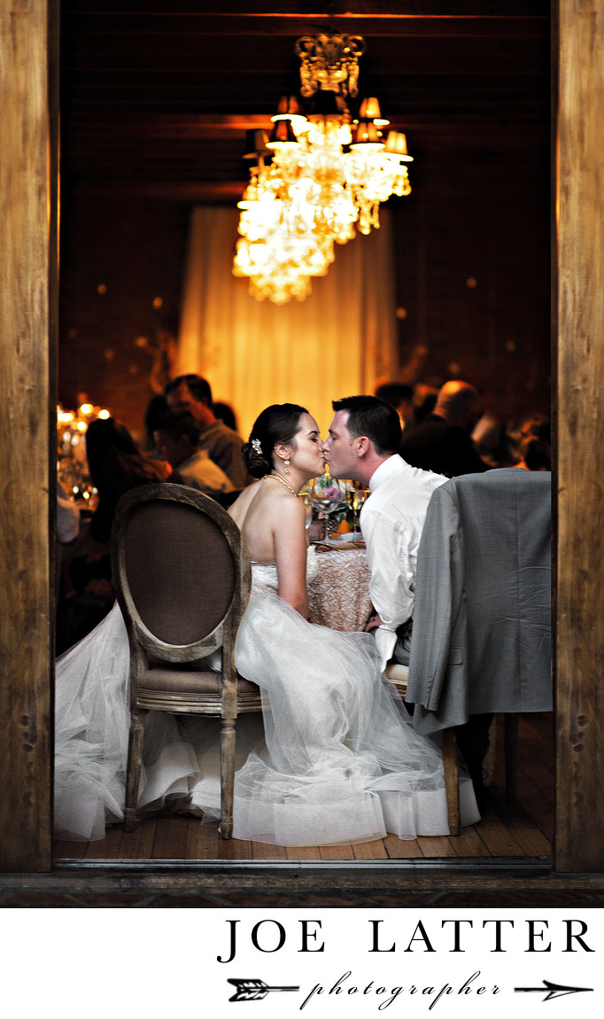 Best Wedding Photographer at the Carondelet House in Los Angeles