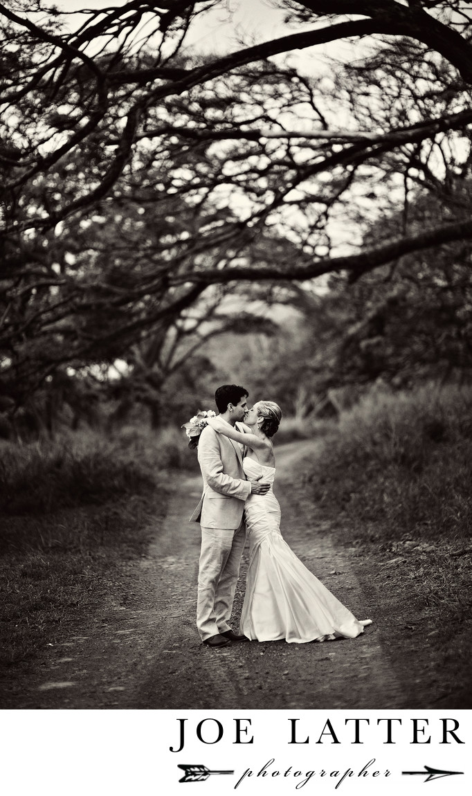 Hawaii Vintage Wedding Photographer at Kualoa Ranch