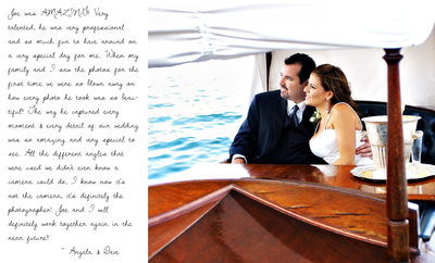 Gondola wedding Balboa Bay Resort Newport Beach