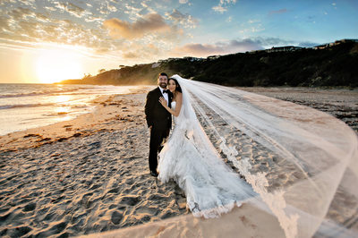 Best Beach Wedding Photographer at the Monarch Beach Resort in Laguna Niguel, California