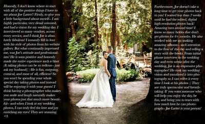 Nestldown Review of Best Wedding Photographer