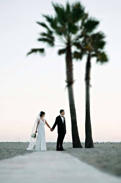 Best Wedding Photographer at the Bel-Air Bay Club in Malibu California