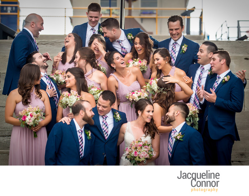 Lockport Locks Wedding Photography - Jacqueline Connor Photography