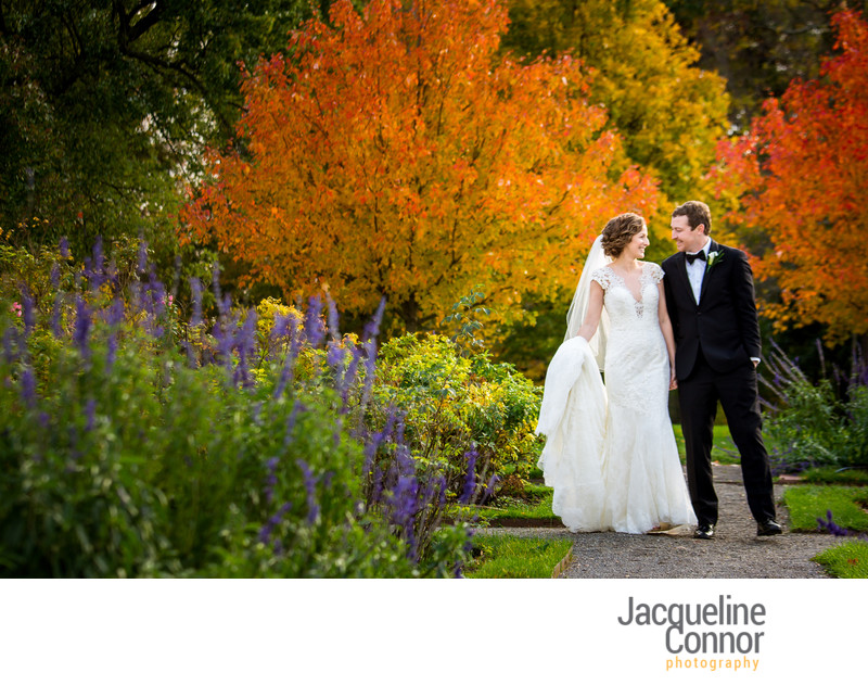 Delaware Park Rose Garden Wedding