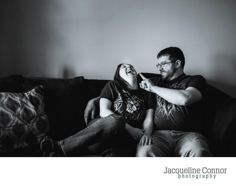 At-Home Engagement Session Buffalo