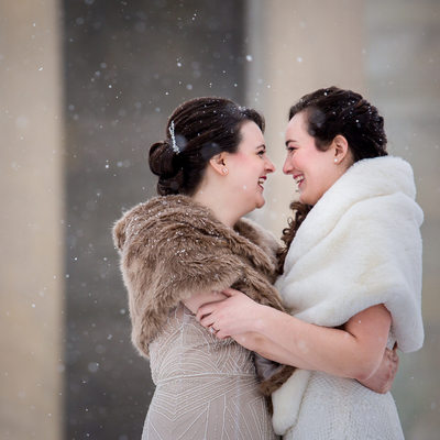 Buffalo Winter Wedding Photos