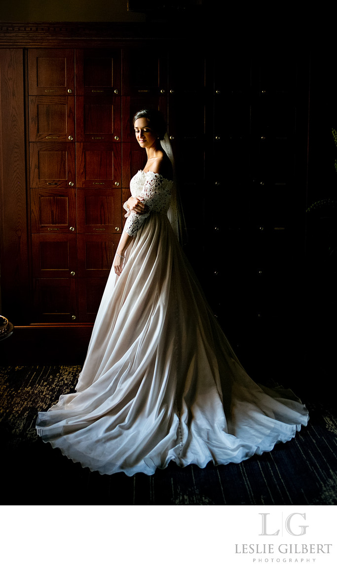 Bridal Portrait at The Inn at Leola