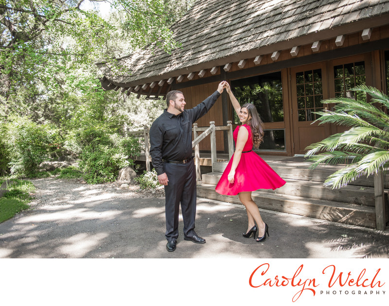 mickey's grove zoo engagement photography