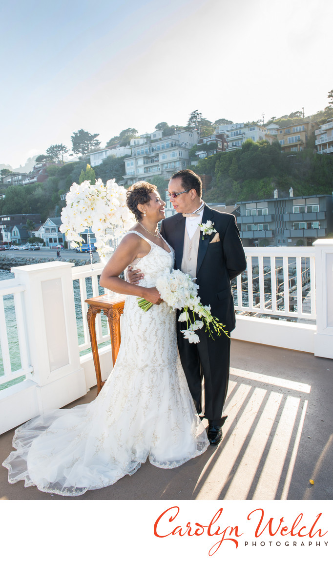 sausalito wedding photography at the trident