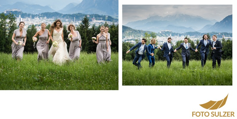 Hochzeit Basilika Maria Plain - Sound of Music