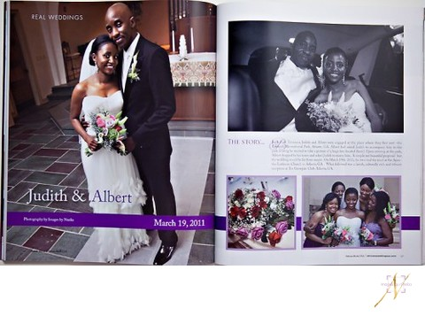 African Bride Wedding Magazine feature