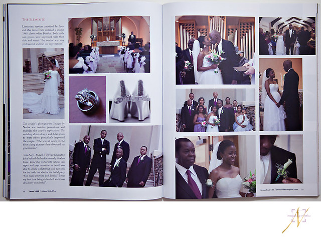 African Bride Wedding Magazine featured