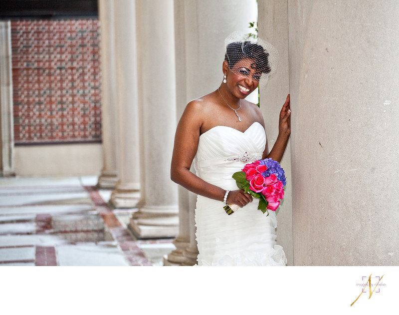 Biltmore Ballrooms Bridal Portrait