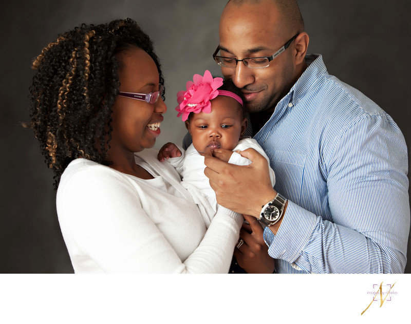 Family portraits in Atlanta Studio