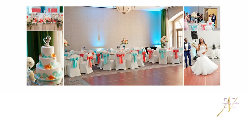 Chateau Elan Wedding Reception Decor