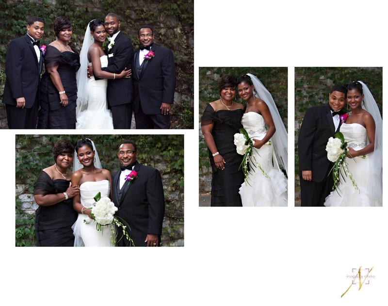 Carter Center Wedding Portraits