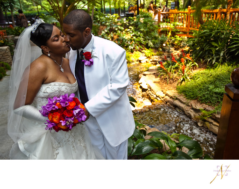 Crowne Plaza Ravinia wedding